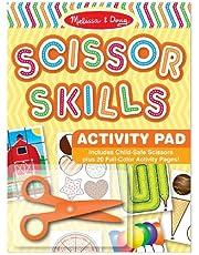 Melissa & Doug Scissor Skills Activity Book (Animal & Peopl