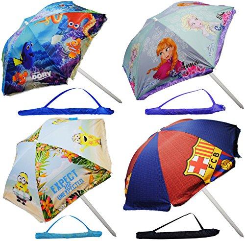 alles-meine.de GmbH Sonnenschirm / Strandschirm –  Ihr Wunschmotiv  – UV-Schutz – UV 50 + / für Kinder – Kinder – Gartenmöbel – Campingschirm / Kindermöbel – für Mädchen & Jung..