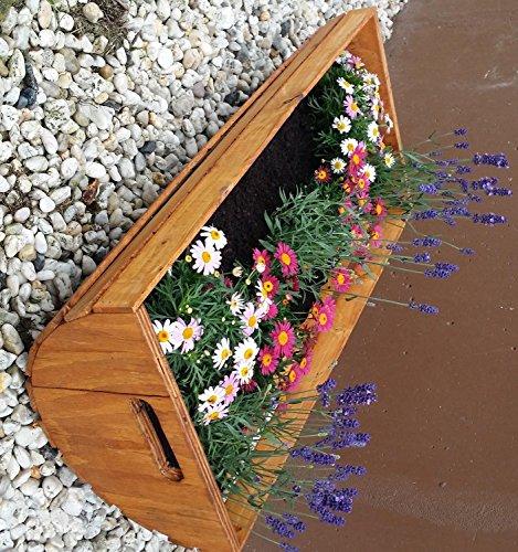 6.6.5.3084: Holz Kasten - schöner Blumenkasten - Kartoffelmolle - Kartoffelkiste - Lagerung von Nüssen, Kartoffeln, Obst