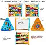 Enlarge toy image: Toys of Wood Oxford Wooden Activity Centre -wooden activity toys with alphabet blocks and abacus-early learning centre baby toys- Wrong Spelling of Panda £2.99 reduced from sale price already