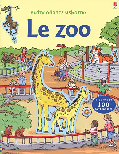 Le zoo - Autocollants Usborne par Sam Taplin