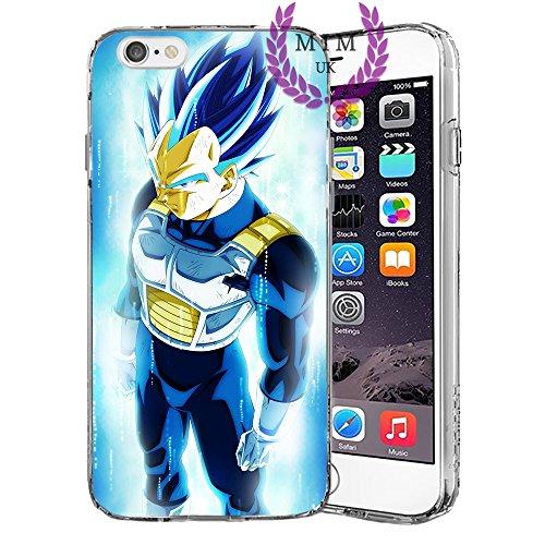 Dragon Ball Z Super GT iPhone Hüllen-Ultra Instinct-Goku Blau-Vegeta Blau-Gohan-Goku Rose-MIM UK, iPhone 5/5s/SE, Perfect Blue (Ball 5s Dragon Z Fall)