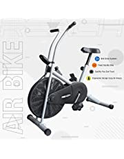 Reach Air Bike Exercise Home Gym Cycle with (Moving Handles/Stationary Handles/Twister/Back Support Seat/Normal Seat) Best Cardio Fitness Machine for Weight Loss.