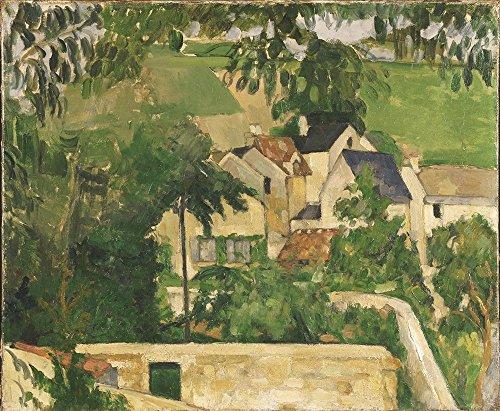 Spiffing Prints Paul Cezanne - Quartier Four Auvers-sur-Oise - Large - Matte Print -