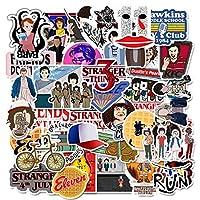 50 pcs Stranger Things Sticker Funny Waterproof Vinyl Stickers for Laptops, Hydro Flasks,Water Bottles,Computers,Phone,Skateboard