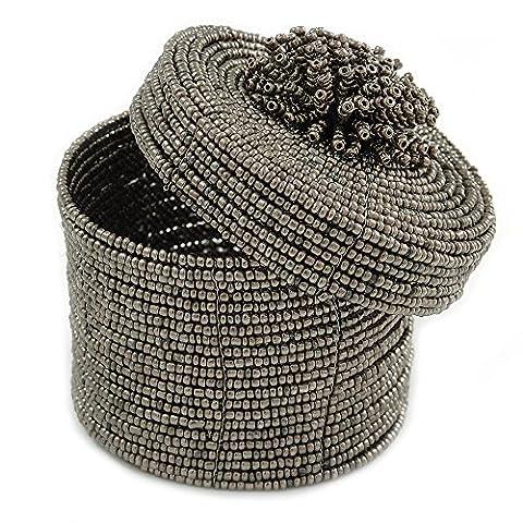Armband/Ring/Anhänger/Ohrringe/Schmuck Set Zinn Glas Bead handgefertigt Box–75mm D/60mm H