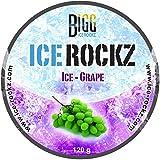 BIGG ICE-ROCKZ - Geschmach: ICE- Traube 120g nikotinfreier Tabakersatz