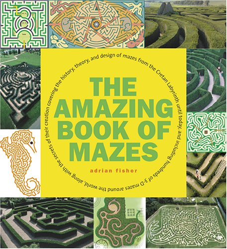 The Amazing Book of Mazes por Adrian Fisher