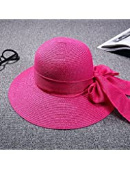 Fan Dear Visera Protector solar Mujer Verano koreanischen bandas Pleasure Beach Stetson sombrero Sun Cap 9cm Cool, b