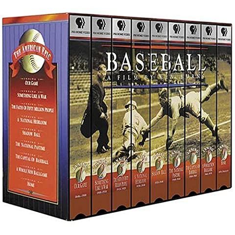Ken Burns Baseball [VHS] [Import USA]