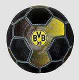 BVB Fußball Carbon (Größe 5) - BVB Borussia Dortmund Fussball 2017/2018 Carbonmuster