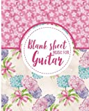 Blank Sheet Music for Guitar: 100 Blank Pages With Guitar Chord Boxes, Standard Staff & Tablature - Sheet Music Manuscript, Sheet Music Notepad, Sheet Music Paperback: Volume 15