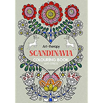 Art Therapy. Scandinavia. Colouring Book