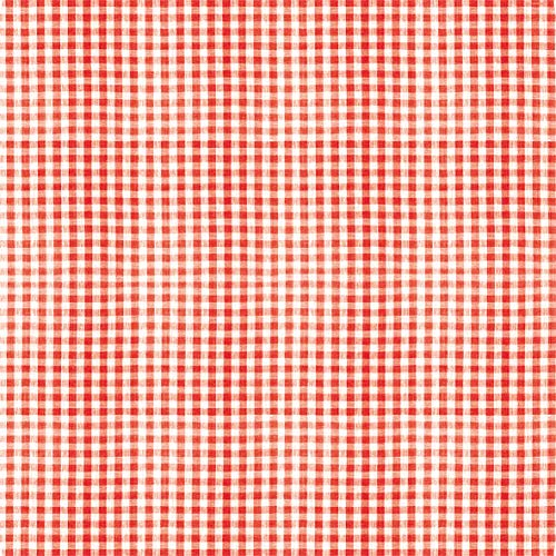 Tischdecke kariert rot | Mitteldecke | Premium Airlaid (stoffähnlich) | 15 Stück | 80 x 80 cm | hochwertige Tischdeko für Hochzeit, Geburtstag, Kommunion, Feiern | made in Germany (Kariertes Papier Servietten)
