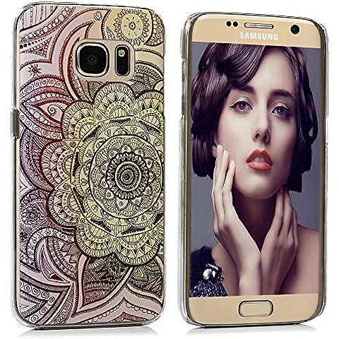 Samsung Galaxy S7 Funda - Lanveni® Chic Elegante Carcasa Rigida PC ultra Slim para Samsung Galaxy S7 Transparente Protective Back Case Cover - Patrón tótem gradiente Diseño
