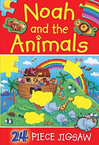 Noah and the Animals (24-piece Jigsaws)