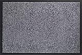 ID Mate 608005Mirande Alfombra Felpudo Fibra Nylon/PVC Recubrimiento 80x 60x 0,9cm, Gris, 60 x 80 cm