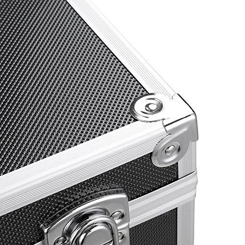 iKayaa 3er Set Transportkoffer Werkzeugkoffer mit Aluminiumrahmen und ABS - 11