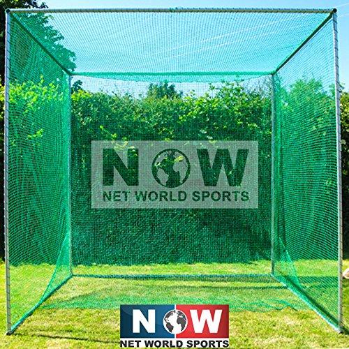 Freistehender Golfkäfig 3 x 3 x 3 m, mit Netz [Net World Sports]