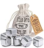 Best Crystal Ice Bags - Stainless Steel Whiskey Stone Ice Cubes, Set Of Review