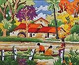 #10: Anchor Stitch Kit - Village Field