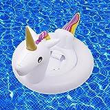 SPECOOL Baby-Pool schweben, Einhorn Schlauchboote Schwimmring Schwimmbad Spielzeug für Kinder (Einhorn)