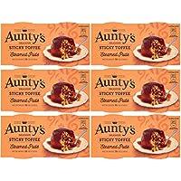 Aunty's Al Vapor Pegajosos Pudines Toffees 2 X 110g (Paquete de 6)