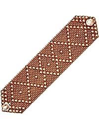 Sergio Gutierrez Liquid Metal-Larghezza cinturino Diamante a rombi