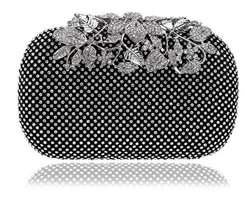MAOMAFG Rosa Handtasche die Mode von Frauen Taschen diamanten - Paket Kleid Hand - Tasche Handtasche Hochzeitsfeier geldbörse Capture Ball