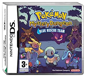Pokémon Mystery Dungeon Blue Rescue Team (Nintendo DS)