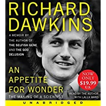 Appetite for Wonder Low Price CD, An: The Making of a Scientist by Richard Dawkins (2014-08-26)