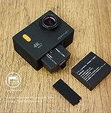 APEMAN Action Kamera WIFI sports cam 4K camera 20MP Ultra Full HD Unterwasserkamera Helmkamera wasserdicht mit 2 verbesserten Batterien...