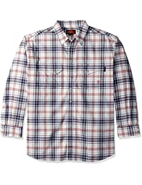 Ariat Men's Big and Tall Flame Resistant Work Snap Shirt
