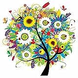 Fairylove 12 × 12 Diamant Malerei Kit voll vier Jahreszeiten Baum Cross Stitch Kit Handarbeiten handgemachte Stickerei