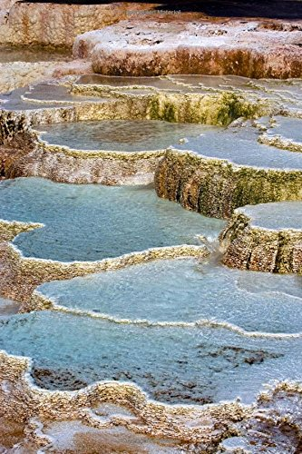 Hot Springs Yellowstone National Park (Minerva Hot Springs in Yellowstone National Park Journal: 150 page lined notebook/diary)