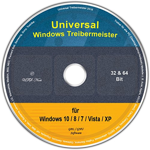 Universal Treiber-Meister für Windows 10 / 8 / 7 / Vista / XP (32/64 Bit) (Betriebssystem Windows Vista)