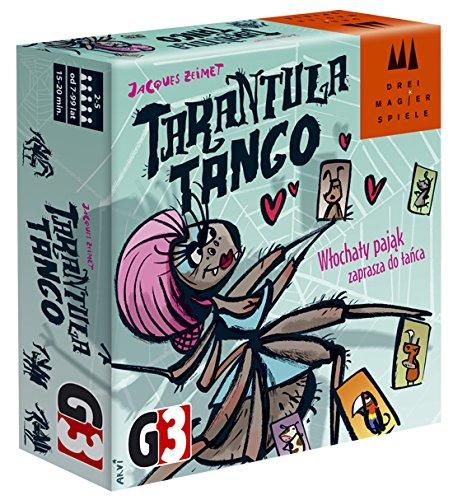 Drei Magier 87147Inglés Edition Tarantula Tango Card Game