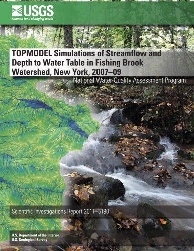 TOPMODEL Simulations of Streamflow and Depth to Water Table in Fishing Brook Watershed, New York, 2007?09