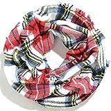 Eaee NEUE Damen Loop Schal viele Farben Muster Schlauchschal Halstuch in aktuellen Trendfarbe #7