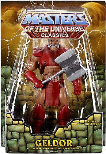 Masters of the Universe Action Figures Masters of the Universe Classics Geldor Matty