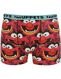 Disney Les Muppets Animal Boxer Short sous-vêtement pour homme Rouge pour garçon Pantalon pour femme