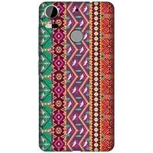 HTC Desire 10 Pro Plastic Back Cover - Multicolor Designer Cases Cover By Printland