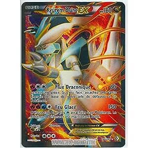 Carte pok mon kyurem blanc ex full art holo reverse 146 - Carte pokemon kyurem blanc ex ...
