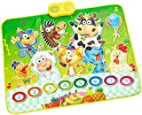Playtastic Musikmatte Kinder: Berührungsempfindliche Musikmatte - Der singende Bauernhof (Spielzeug-Musik-Matte)