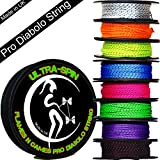 Flames N Games ULTRA-SPIN Pro Ficelle Diabolo 10m Corde / Ficelle pour baguettes de diabolo - Prix par bobine.