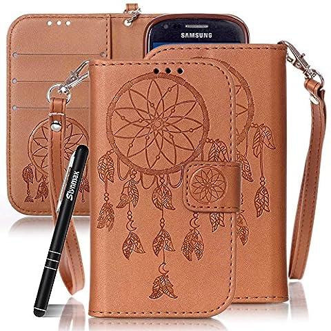 Slynmax Handytasche Schutzhülle für Samsung Galaxy S3 Mini i8190 Hülle