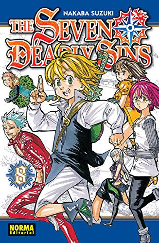 The Seven Deadly Sins 8 por Nakaba Suzuki