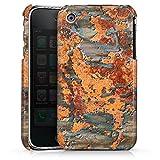 DeinDesign Apple iPhone 3Gs Coque Étui Housse Rouillé Orange