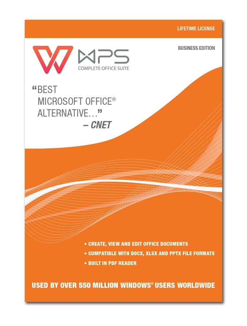WPS Office Business Edition - Lebenslange Lizenz [Download]