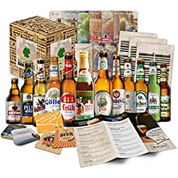 Geschenkbox mit Bier - Weihnachtsgeschenkidee für Eltern, Weihnachtsgeschenkidee für Papa, ausgefallene Geschenke für Männer